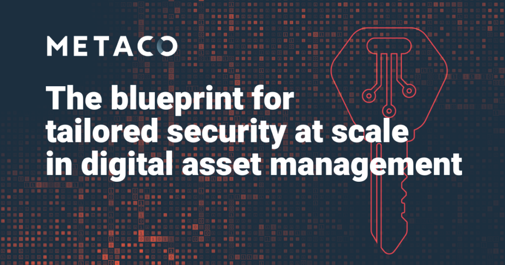 The blueprint for tailored security in digital asset management