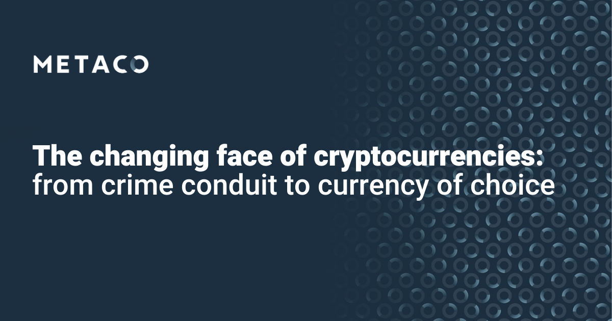 The changing face of cryptocurrencies 2021