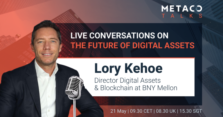 METACO Talks Digital Asset Opportunity with Lory KEHOE